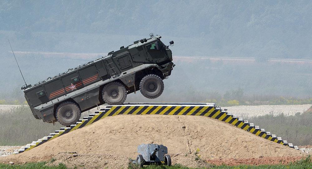 俄軍裝備將智能化