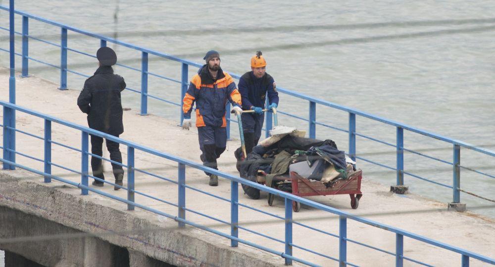 圖-154飛機失事搜救發現13人遺體