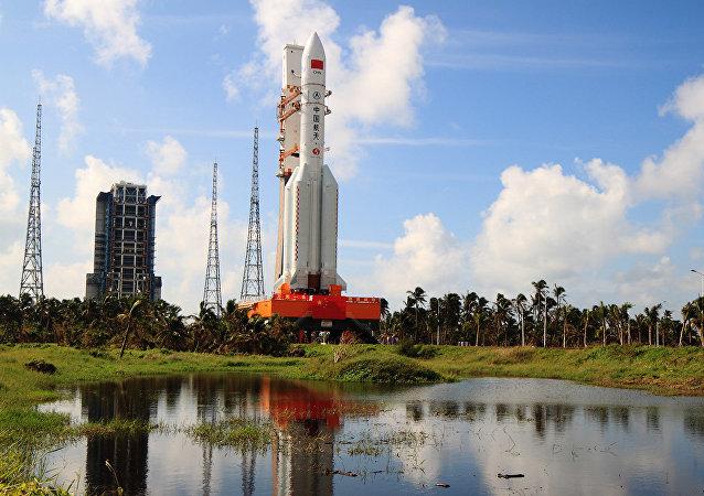 長征五號系列火箭(資料圖片)