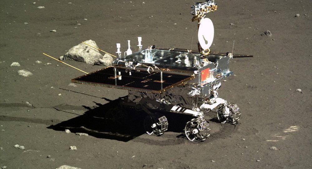 中國嫦娥五號月球探測器組合體分離