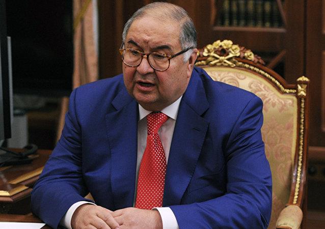 阿利捨爾·烏斯曼諾夫