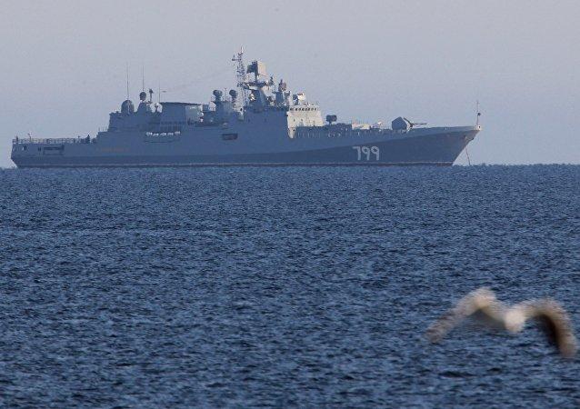 「馬卡洛夫海軍上將」號護衛艦