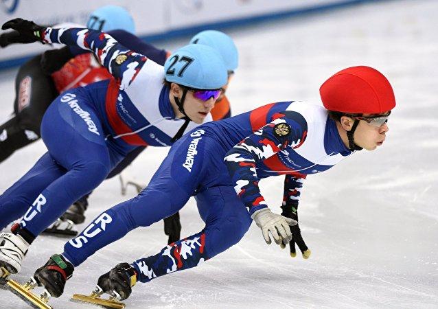 俄羅斯奪得短道速滑世界杯男子接力冠軍