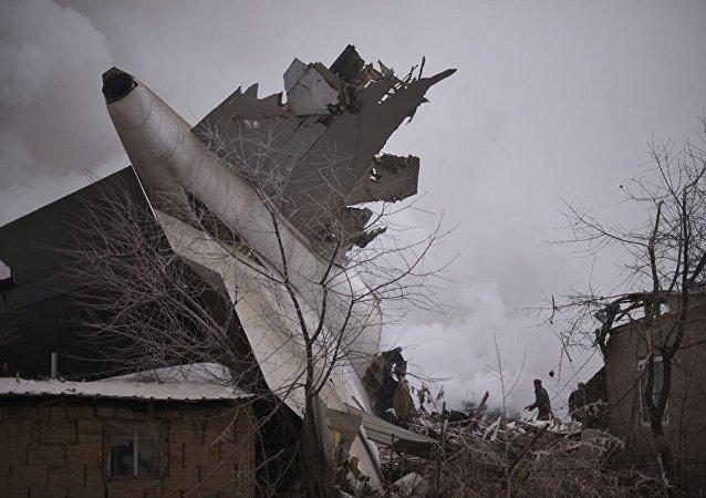 國家間航空委員會:比什凱克附近墜毀波音貨機黑匣子數據已被讀取 錄音質量良好