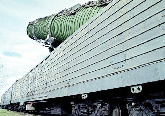 消息人士:俄擬於2019年對裝備「核列車」的導彈進行飛行測試