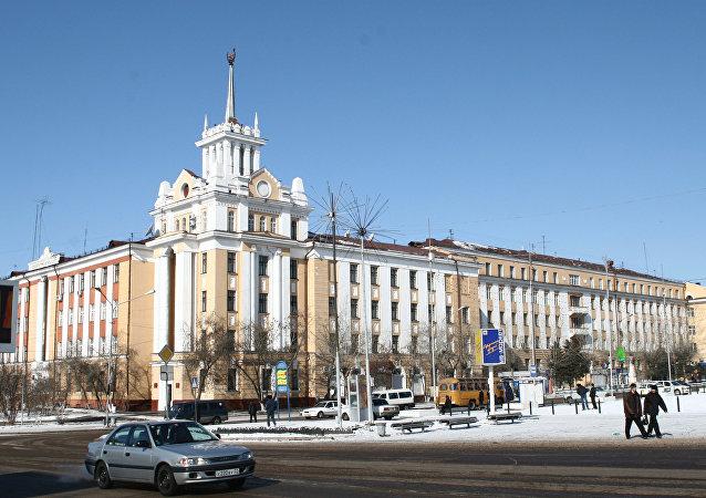俄布里亞特共和國, 烏蘭烏德