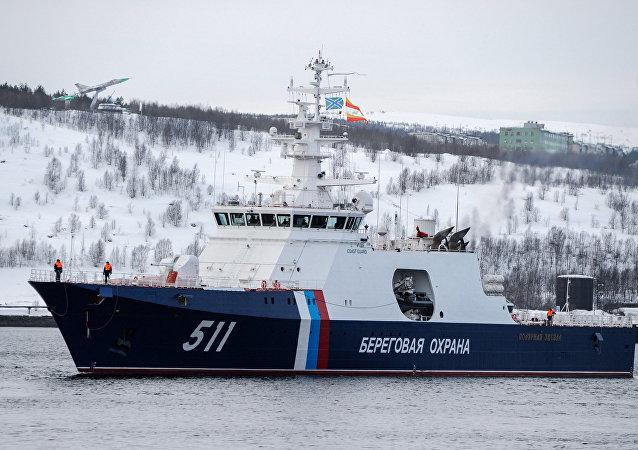 俄巡邏艦,北極