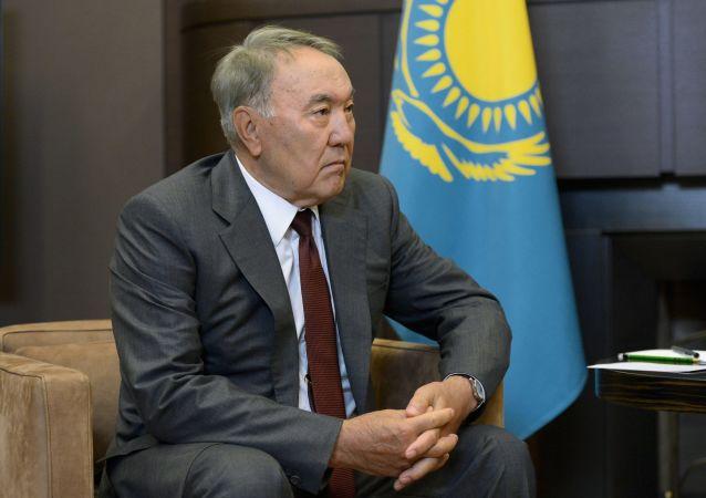 哈薩克斯坦總統納扎爾巴耶夫