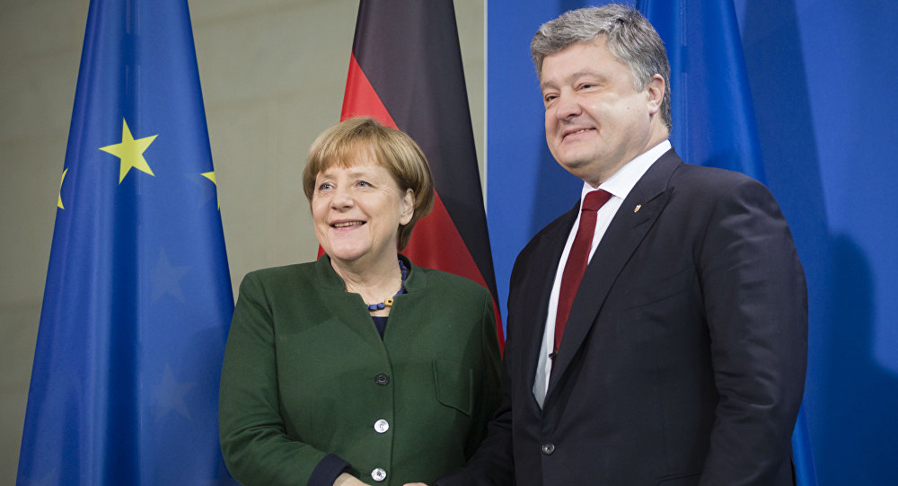 波羅申科與默克爾