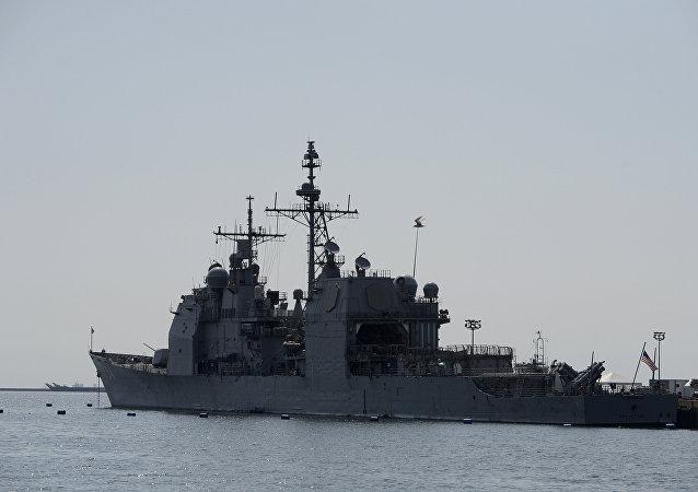 美國導彈巡洋艦Antietam