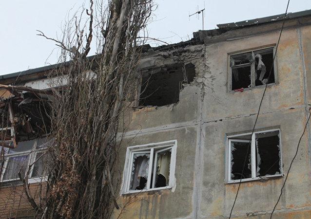 歐安組織:1月31日頓巴斯停火被破壞1.1萬多次
