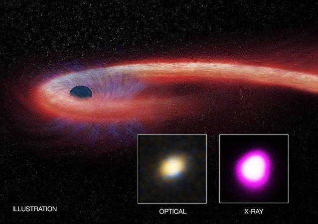 中國慧眼衛星發現距離黑洞最近的高速噴流