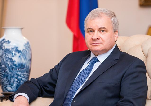 俄駐華大使安德烈·傑尼索夫
