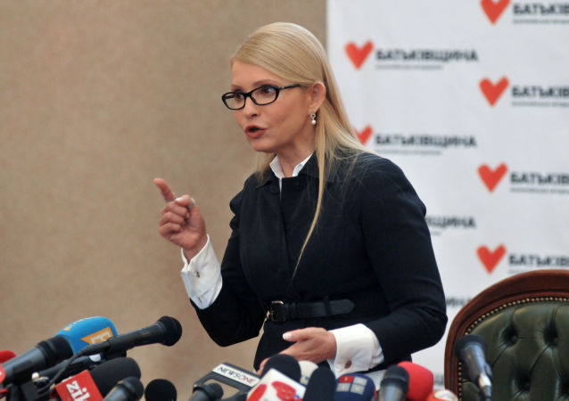 季莫申科:波羅申科必須剁掉自己的雙手