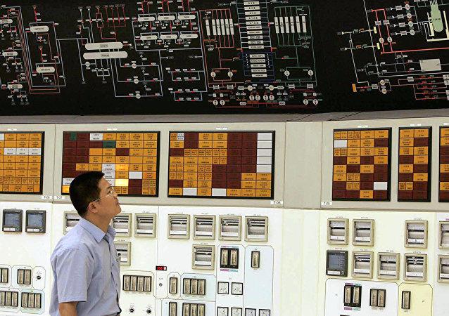 中國核電站