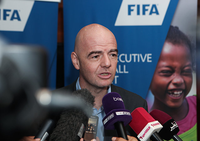 因凡蒂諾:距離2018年世界杯還有一周 俄羅斯已做好充分準備