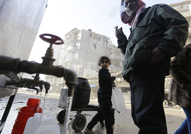 阿勒頗省省長正在尋求另一供水途徑
