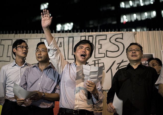 「佔中」運動示威者