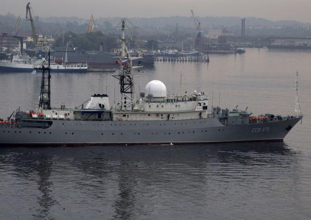 「維克多∙列昂諾夫」號偵察船