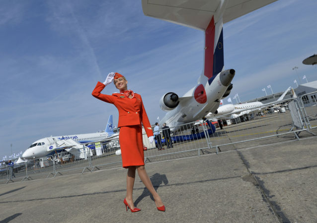 俄航獲中國2017年度最受常旅客喜愛的國際航空公司獎