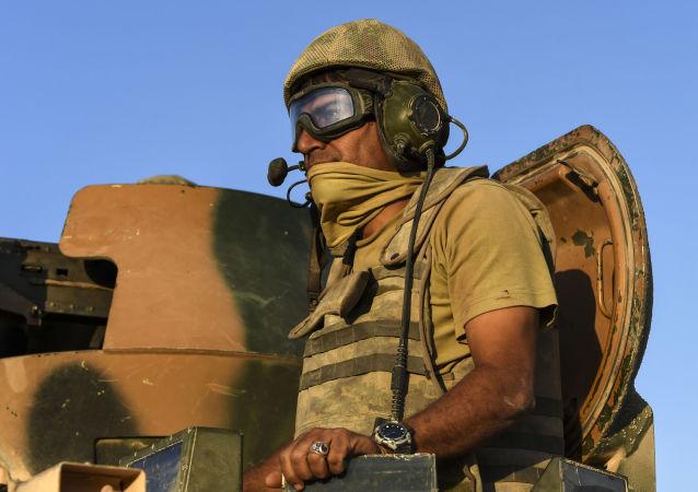 土耳其軍人在敘利亞/資料圖片/