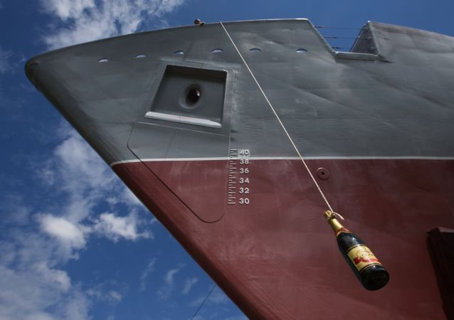 Головной противоминный корабль Александр Обухов