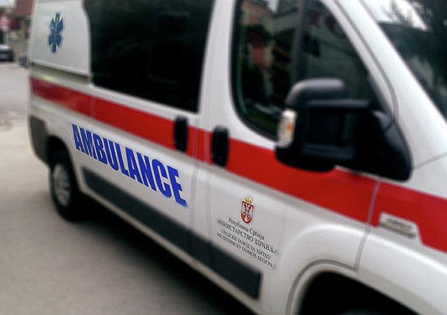 塞爾維亞救護車