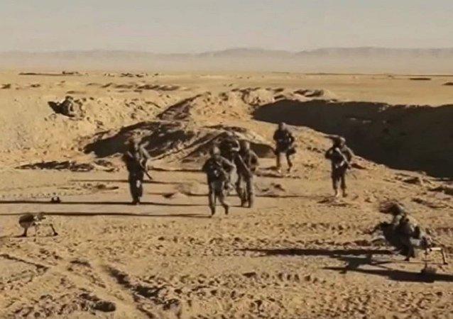 俄羅斯特種部隊在敘利亞的行動