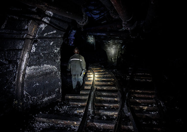 俄庫茲巴斯地區一礦井的90名礦工因主風機停正離井逃生