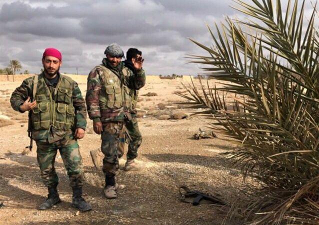 敘利亞政府軍已包圍「伊斯蘭國」在哈馬省的大型據點