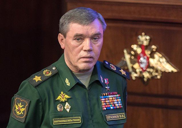 俄羅斯武裝力量總參謀長格拉西莫夫