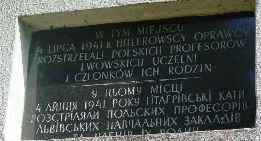 波蘭駐烏大使:烏克蘭利沃夫州兩座波蘭紀念碑被褻瀆