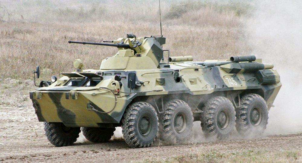 BTR-82A裝甲運兵車