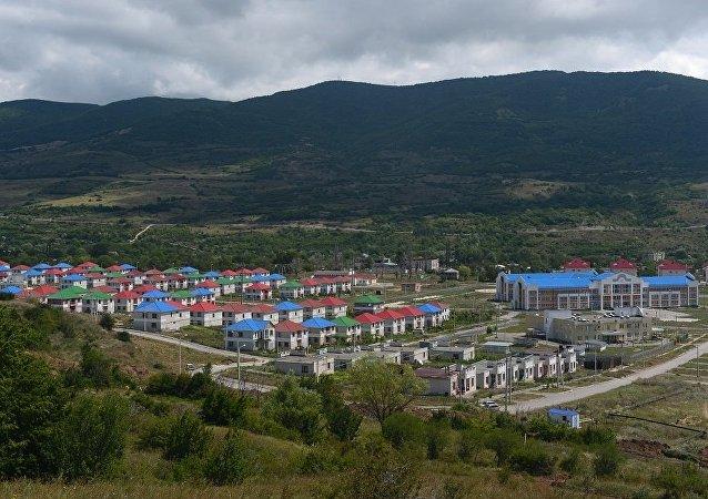 南奧塞梯首都茨欣瓦利