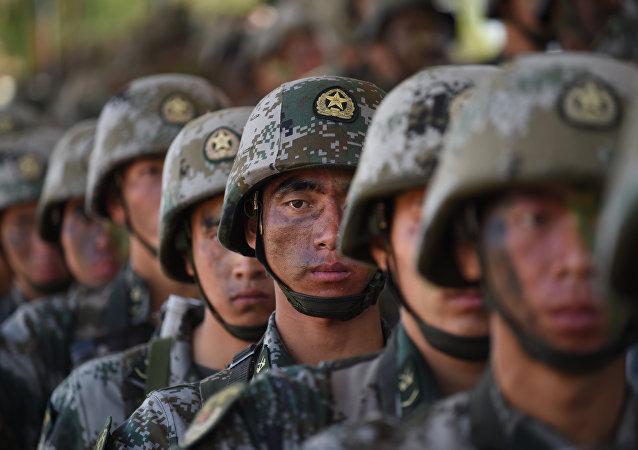 媒體:中國軍力入圍世界前三
