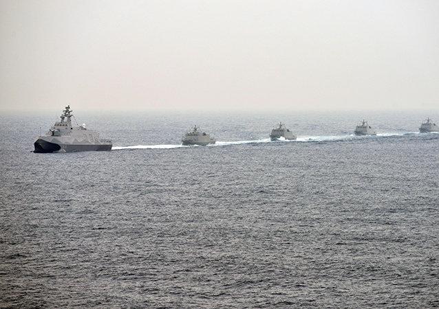 台灣海上軍演