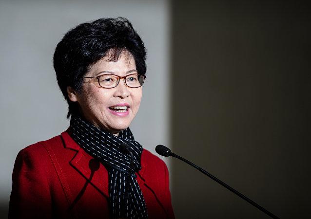 香港特區政府決定推遲第七屆立法會選舉,國務院港澳辦、中聯辦齊發聲