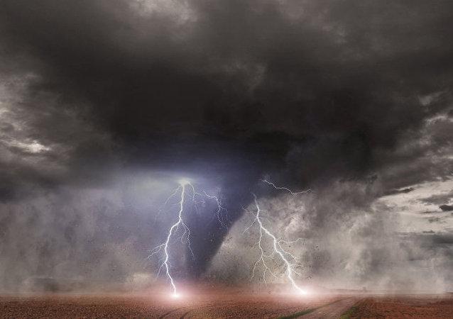 龍捲風 (資料圖片)