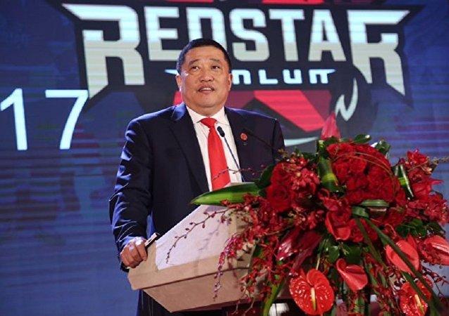 北京崑崙鴻星冰球俱樂部主席趙曉宇