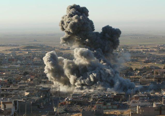 美國反恐聯盟承認在敘伊行動中導致801名平民喪生