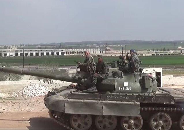 敘利亞軍隊數天來擊退了1400平方公里沙漠區域內的武裝分子