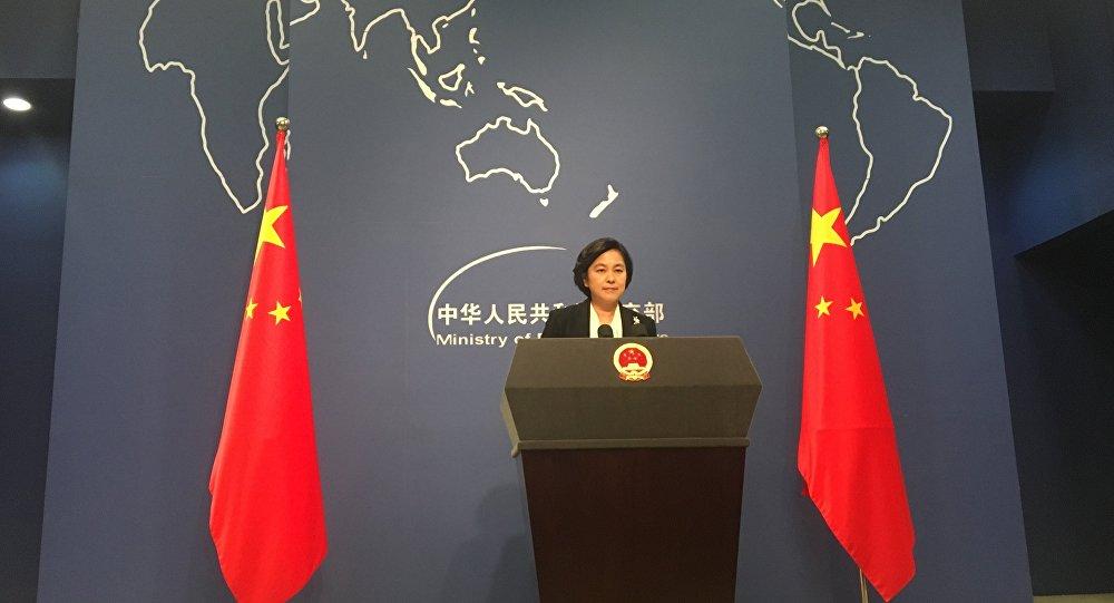 中國外交部發言人華春瑩