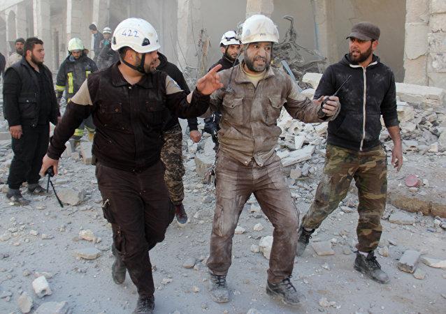 以色列外交部:該國已將「白盔」成員從敘利亞撤出