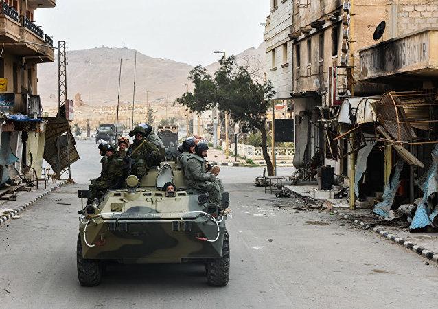 敘俄軍方在特別行動中解救19名被「伊斯蘭國」綁架人質