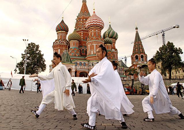 道土在莫斯科紅場