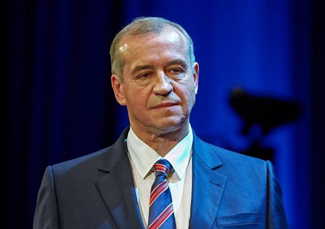 俄羅斯伊爾庫茨克州州長謝爾蓋∙列夫琴科