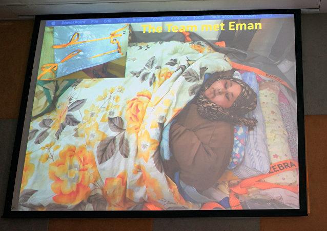 體重達500公斤的埃及婦女阿提(Eman Ahmed Abd El Aty)