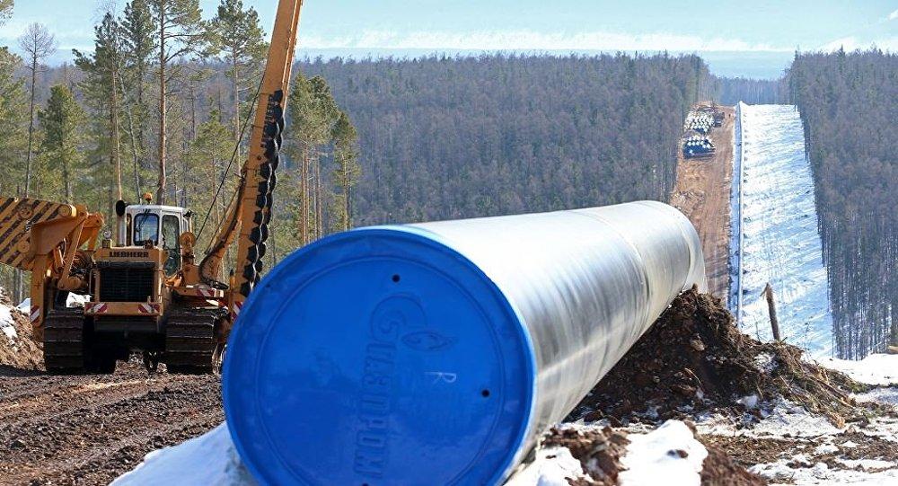 「西伯利亞力量」輸氣管道