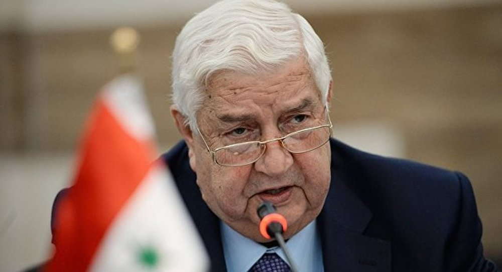 敘利亞外長:敘利亞不希望和土耳其軍隊發生戰鬥
