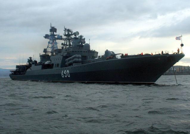 約100艘俄軍艦在各全球海洋熱點執行任務